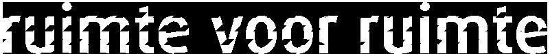 logo ruimte voor ruimte
